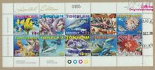 Tokelau 372-381 Sheetlet (complete issue) fine used / cancelled 2007 S (9305271