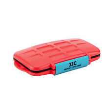 JJC MC-NSMSD16 Memory Card Case fits  8 NS8  Storage Nintendo Switch RED EVA