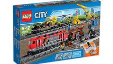 LEGO CITY 60098 Schwerlastzug Güterzug Lok Wagon Kran Güterbahnhof   NEU & OVP