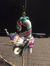 ENESCO CHRISTMAS ORNAMENT: WEE TREE TRIMMERS  SNUFFY NORTH POLE VILLAGE NEW