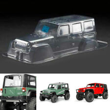 Clear PVC Body Shell &Vinyl Decal For RC 1/10 Climbing Jeep Wrangler D90 313mm