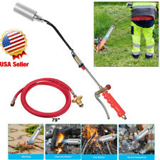 Push Button Igniter Propane Torch Weed Burner Trigger Start Ice Melter 79 Hose