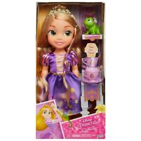 Original Disney Princess T/Time Doll Set Cinderella & Gus Gus /Rapunzel & Pascal