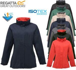 Regatta Womens Jacket Lightweight Waterproof Ardmore Jacket with Concealed hood