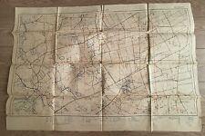 4- CARTE ANCIENNE Guerre - Canevas de Tir - Veldhoek - Belgique 1917