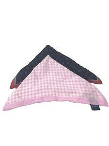 2 Club Room Men's 100% Silk Handkerchief Pocket Square