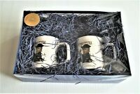 "BRAND NEW Original RUSH LIMBAUGH ""TWO IF BY TEA"" 2 MUG SET, Only 20 Sets Left !!"