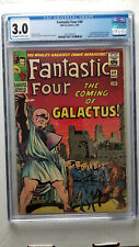 Fantastic Four #48 CGC 3.0 G/VG   1st Appearance Silver Surfer Galactus