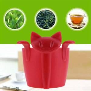 Orange Tea Maker Tea Strainers Accessories Reuseable Food-Safe Spice Filter LP