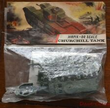 Early  Bagged Airfix Red Stripe OO scale British WWII Churchill MK VII Tank