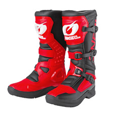 O`Neal Oneal RSX pro Cross Stiefel Enduro schwarz rot weiss Gr. 45 Teststiefel