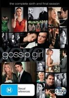 Gossip Girl The Complete Sixth And Final Season 6 DVD Region 4