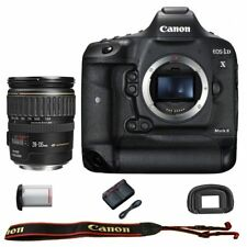 Canon EOS 1DX Mark II DSLR Camera Body with EF 28-135mm f/3.5-5.6 IS USM Lens