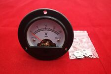 Dc 0 20v Analog Voltmeter Analogue Voltage Panel Meter Dia 664mm Dh52
