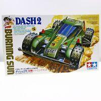 RETIRED Japan Tamiya 1/32 Mini 4WD  Dash 2 Burning Sun Green Plated Body Toys