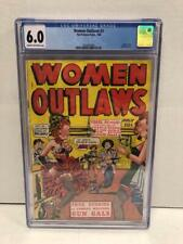 RARE WOMEN OUTLAWS #1 FOX FEATURES CGC GRADED 6.0 C-OW JULY 1948