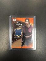 2018 Topps AMC The Walking Dead TARA CHAMBLER ROAD TO ALEXANDRIA RUST RELIC R-TC