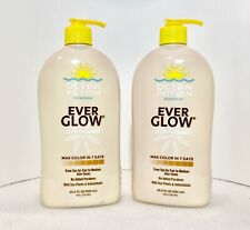 2 Ocean Potion Suncare Ever Glow Self Tanning Lotion 20.5 oz Free Ship +Spot Stk