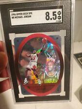 1996 SPx #8 Michael Jordan Holo Holographic SGC 8.5 MJ Die Cut