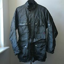Very cool rare BELSTAFF 42% metal fibres jacket with detachable thinsulate vest