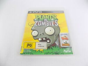 Mint Disc Playstation 3 Ps3 Plants vs Zombies Includes Peggle and Heavy Weapon