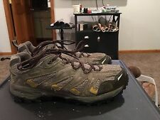 The North Face Taupe Suede Hiking, Trail Shoes Men's Size 11.5