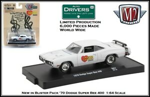 '70 Dodge Super Bee 440  in Blister Pack M2 Machines 1:64th Diecast Car