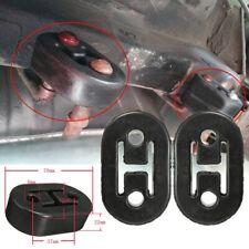 2Pcs Heavy Duty Rubber Exhaust Tail Pipe Mount Bracket Hanger Bushing Insulator
