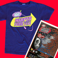 Warped Tour 2010 Original Men's small T-shirt & 11x17 Poster. Portland Oregon
