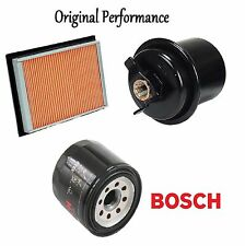 Tune Up Kit Air Oil Fuel Filters for Honda Civic CX; DX; LX; 1.6L 1996-1997