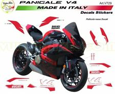 V729 Aufkleber Kit rot für Ducati Panigale V4