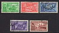 New Zealand Set of 5 Stamps c1936 Used (6483)