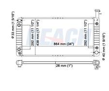 Radiator Reach Cooling 41-2713