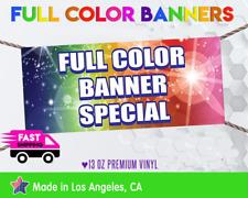 3' x 3'Full Color Custom Vinyl Banner Free Shipping