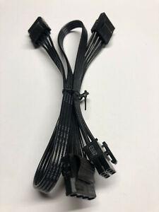 Seasonic Focus+ Gold 6-pin to 3xMOLEX Peripheral Original Power Supply Cable