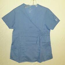 myGuardian Womens Vestex Ceil Blue Scrub Top Size XS