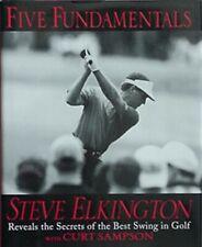STEVE ELKINGTON SECRETS OF BEST GOLF SWING, 1998 BOOK