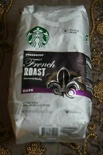FRESH Starbucks French Roast, Dark whole bean 100% Arabica Coffee  2.5 lb