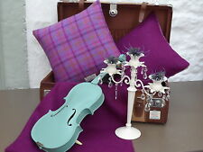 Novelty Checked Decorative Cushions