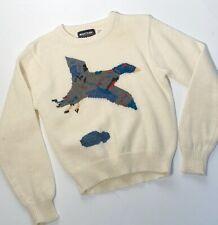 Mighty Mac Ski Wear Flying Duck Vintage Knit Sweater Boys Woman's XS