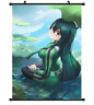 "Hot Anime Boku no Hero Academia Asui Tsuyu Decor Poster Wall Scroll 8""x12"" P209"
