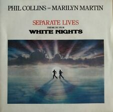"Phil Collins - Separate Lives - White Nights BO - Vinyl 7"" 45T (Single)"