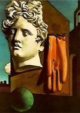 De Chirico cod 09 Poster 50x70 cm Stampa Grafica Printing Fine Art papiarte
