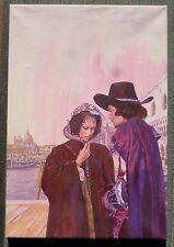 Originalzeichnung Titelbild Pabel  für Romanheft Nr. 18 Die Vier Musketiere 1976