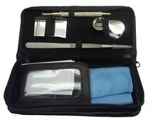 GEMSTONE INSPECTION KIT includes: Loupe, Tweezers, Shovel, Holder and Case