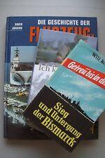 3 Bücher Getreu bis in den Tod Bismarck Im kam durch Wehrmacht Flugzeugträger