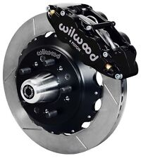 "WILWOOD DISC BRAKE KIT,FRONT,79-87 CHEVY,GMC,BUICK,OLDS,PONTIAC,13"" ROTORS,BLACK"