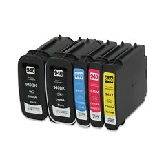 5 NON-OEM 940XL INK CARTRIDGE for HP OFFICEJET PRO 8000 8500 8500A HP940
