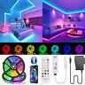5-20m LED Stripe RGB Leiste Streifen 5050 Band Wasserdicht Leuchte Lichterkette