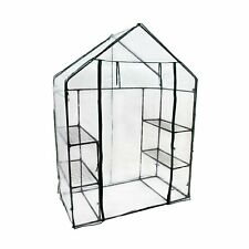 More details for new! 3-tier 4 shelf mini walk-in growhouse garden greenhouse